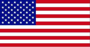 US flag - HOME